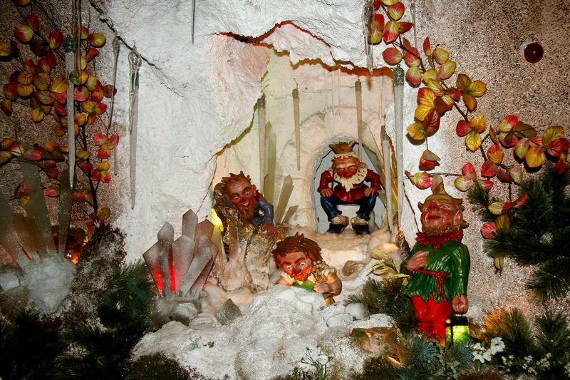 Grottenbahn am Pö...